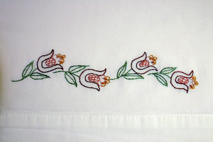 Pillowcase Embroidery Rosemarys Blog