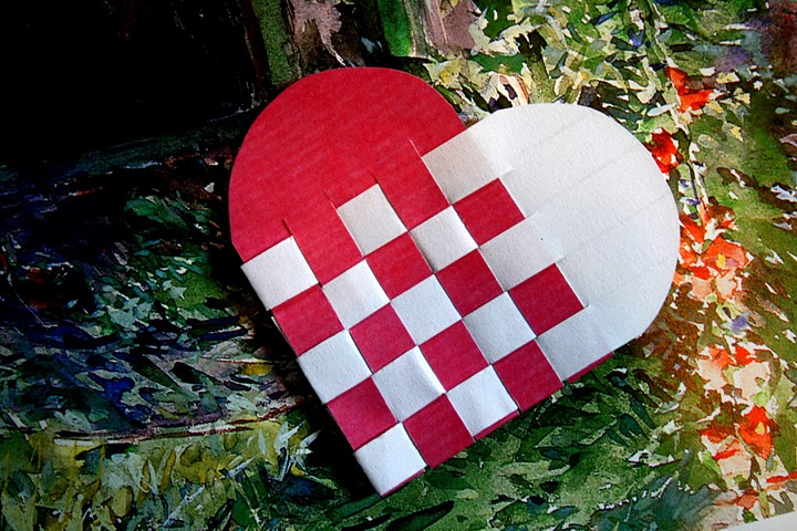 Valentine Papercrafts DIY Hearts February 2 2011