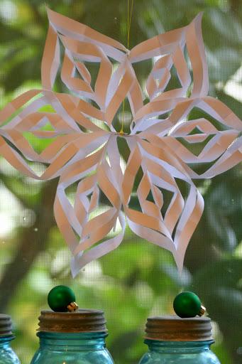 Paper Star Snowflake