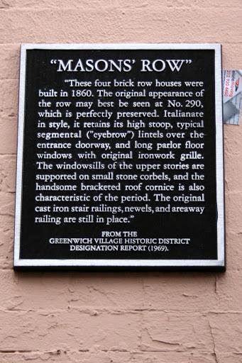 Mason's Row
