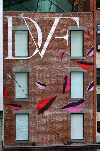 Diane Von Furstenberg building next to the High Line