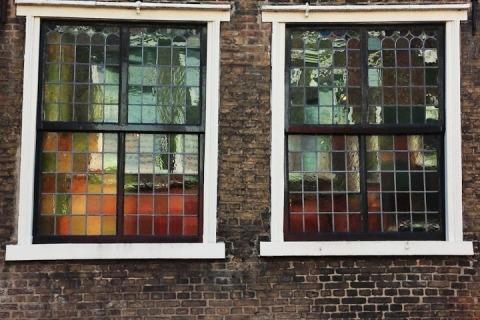 Old windows, Delft