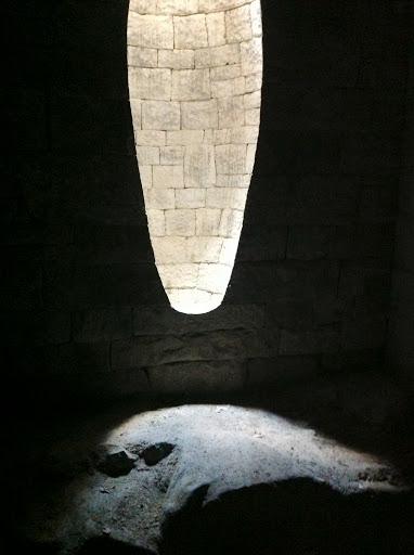 Goldsworthy wall sculpture