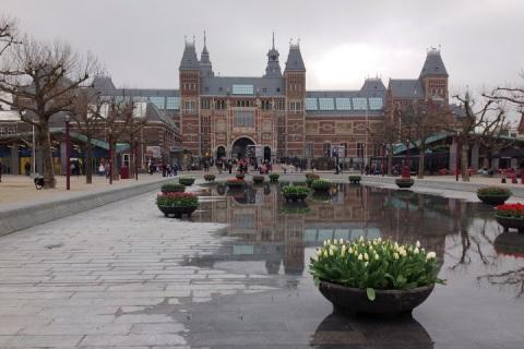 Park behind the Rijksmuseum, Amsterdam