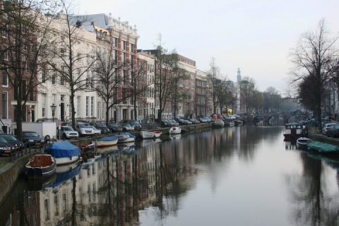 A quiet morning in Amsterdam