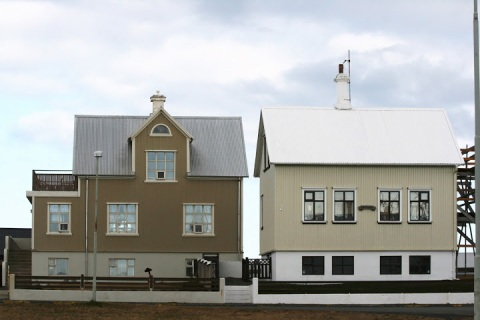 "Two historic ""summer houses"" in Keflavik"