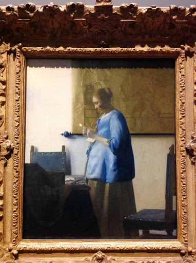 One of several Vermeer paintings on exhibit