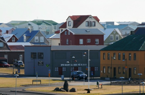 Downtown Keflavik, how tidy and clean
