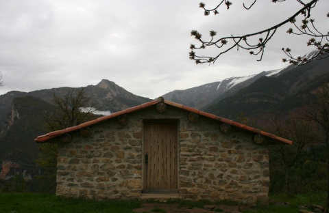 The refuge at Vieil Esclangon