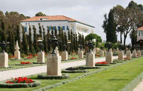 Baha'i mansion and grounds