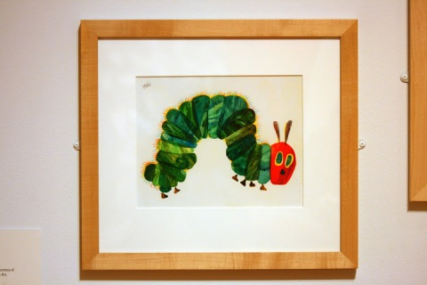 Print of The Very Hungry Caterpillar, Tacoma Art Museum