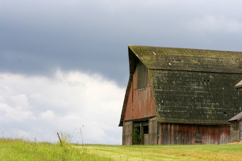 Old barn, Whidbey Island