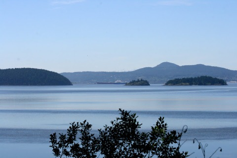 View from Samish Island