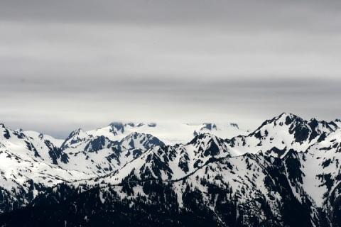 Snow-capped peaks