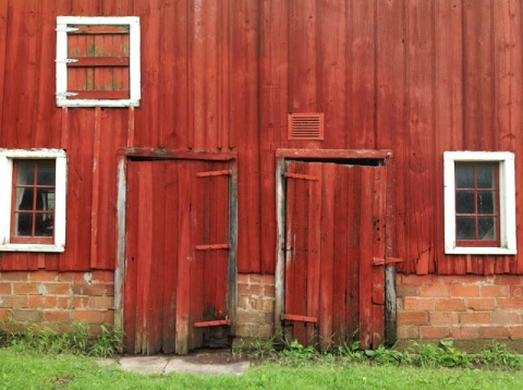 Barn doors and windows