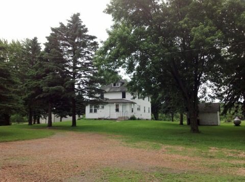 The old farmhouse where I grew up