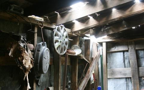 Interior, garage