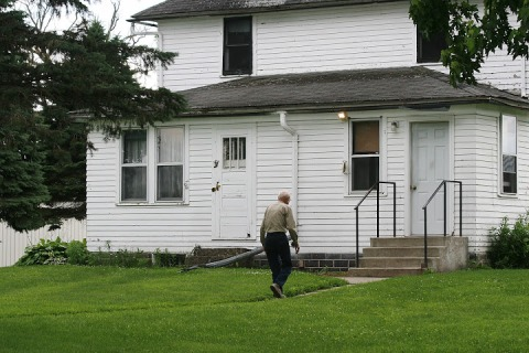 My 94-year-old Dad and the old farm house where he lives
