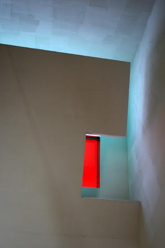 Red window, Chapel of St. Ignatius