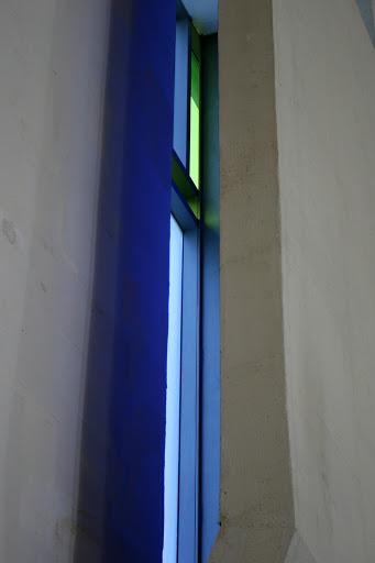 Blue window, Chapel of St. Ignatius