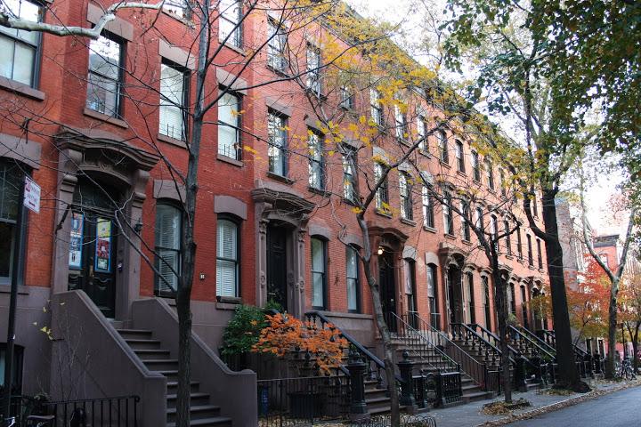 New York Row Houses : New york city impressions rosemary s