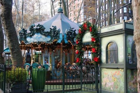 Carousel at Bryant Park