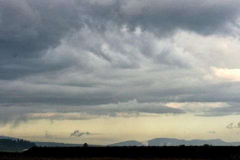 Cloudy morning, Skagit Valley