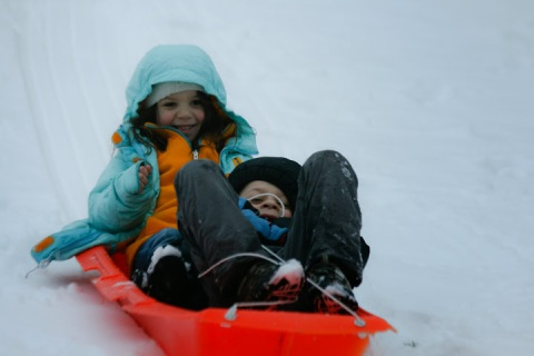 """A snow day, in the simplest sense, is a day a child spends outside normal time."" -- Adam Gopnik"
