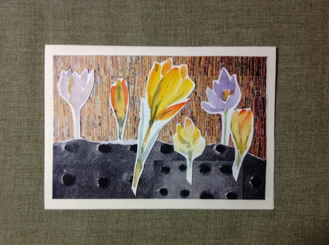 Crocus collage