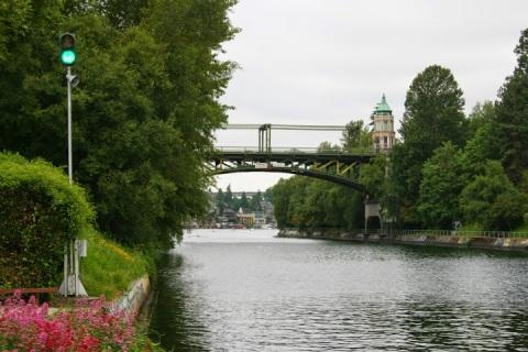 Montlake Bridge over the Ship Canal