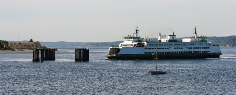 Ferry to Vashon Island