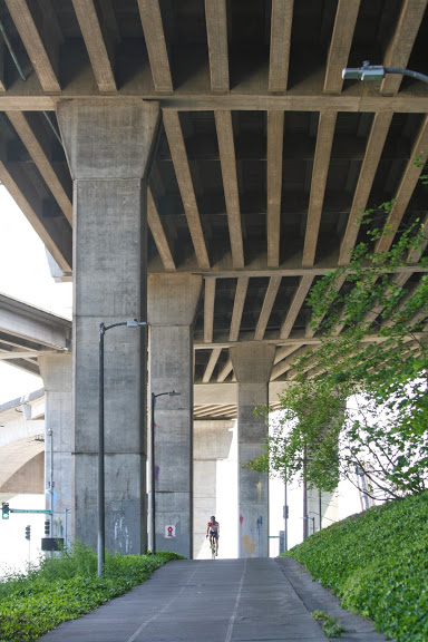 Under the West Seattle Bridge