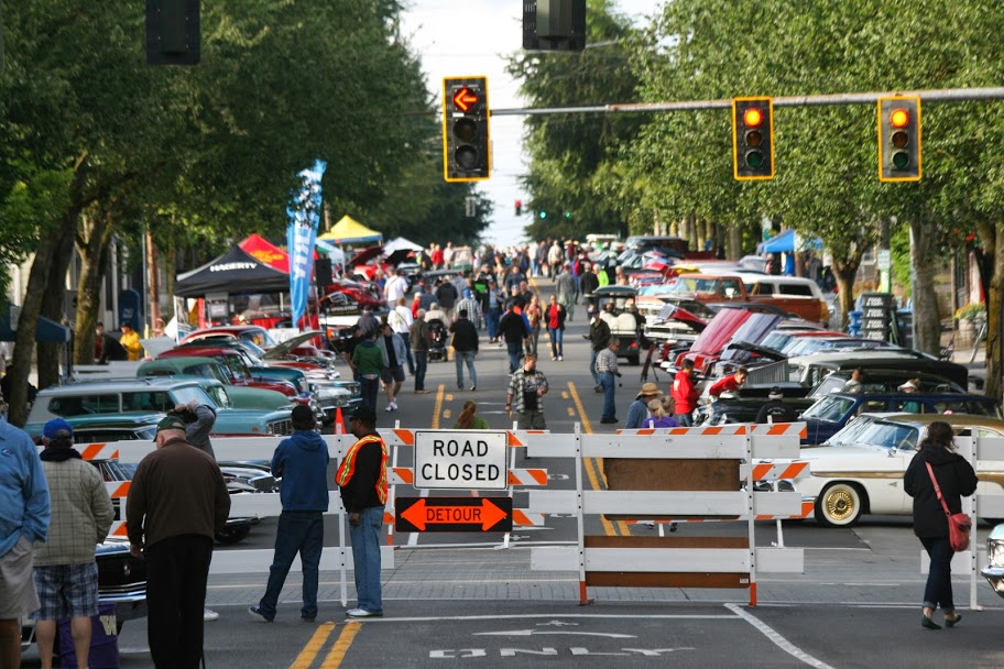 Today Is The Greenwood Car Show Rosemarys Blog - Seattle car show