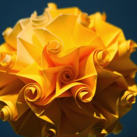Twirl Rhombuses by Kystuna and Wojtek Burczyk