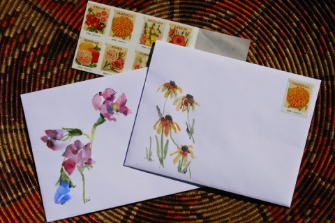 My decorated envelopes