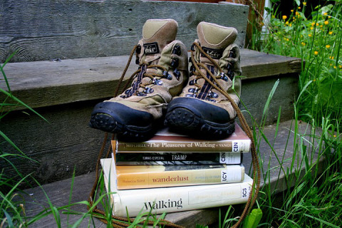 My old hiking boots from REI