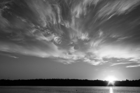 Sunrise at Green Lake