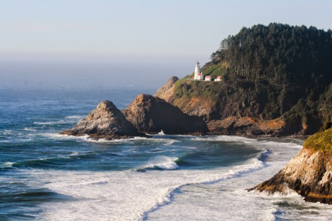 Heceta Lighthouse, Oregon coast