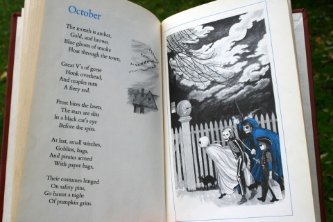 From A Child's Calendar by John Updike