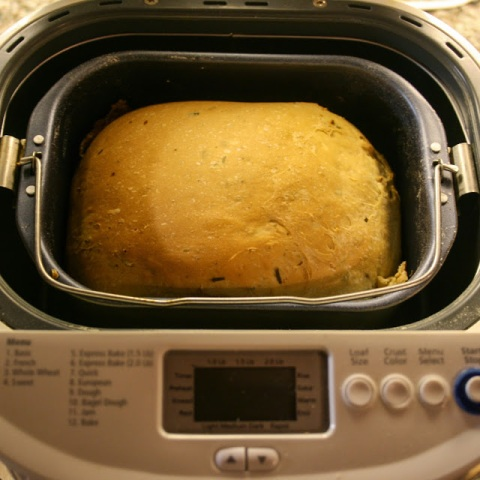 Cheese bread in the bread machine