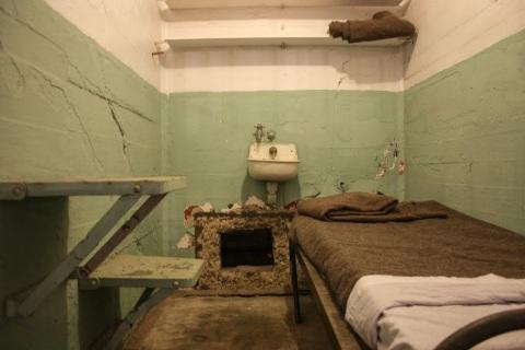 Prison cell, Alcatraz