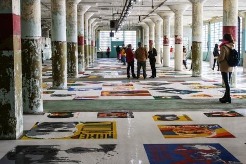 """""""Trace"""" by Ai Weiwei"""