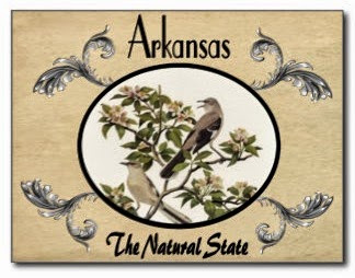 "Arkansas postcard extolling the ""Natural State"""