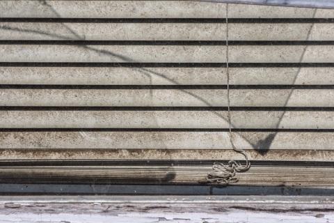 Window, abandoned farmhouse