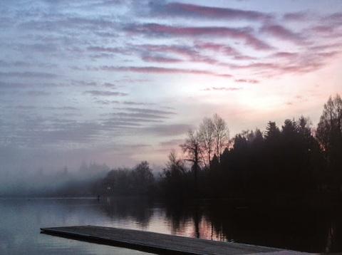Dawn at Green Lake