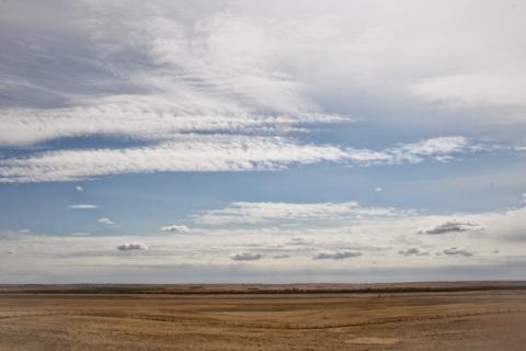 Nebraska landscape along I-80