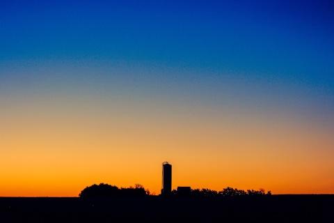Sunrise near Kearney, Nbraska