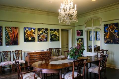 Interior, Bloedel residence