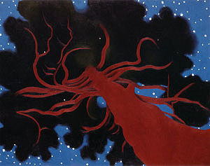 """Lawrence Tree"" painting by Georgia O'Keeffe"