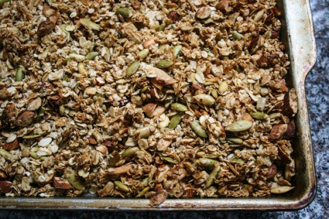 Homemade Coconut and Almond Granola